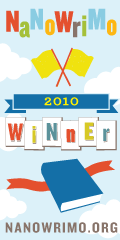 Winner&#039;s Badge for Nanowrimo 2010