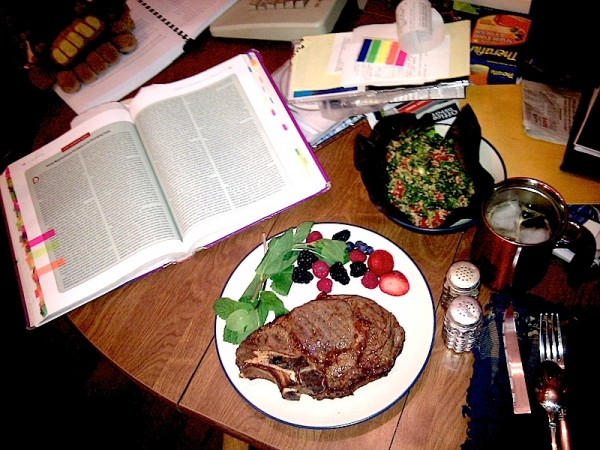 Ribeye Steak, Tabbouleh, and Cognitive Neuroscience