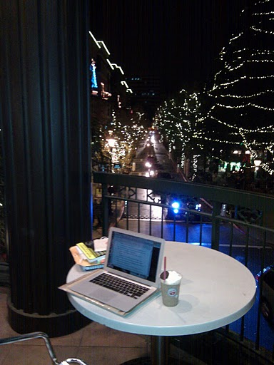 The Balcony of Borders at Santana Row