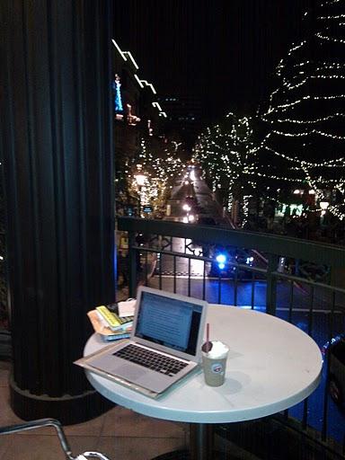 The Balcony of Borders at Santana Row