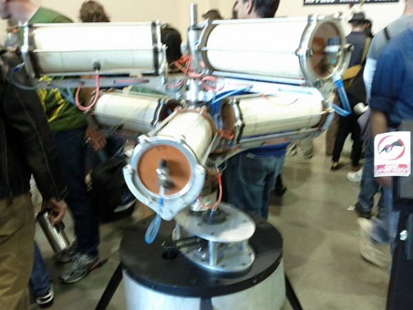 Some strange device I saw at the Maker Faire