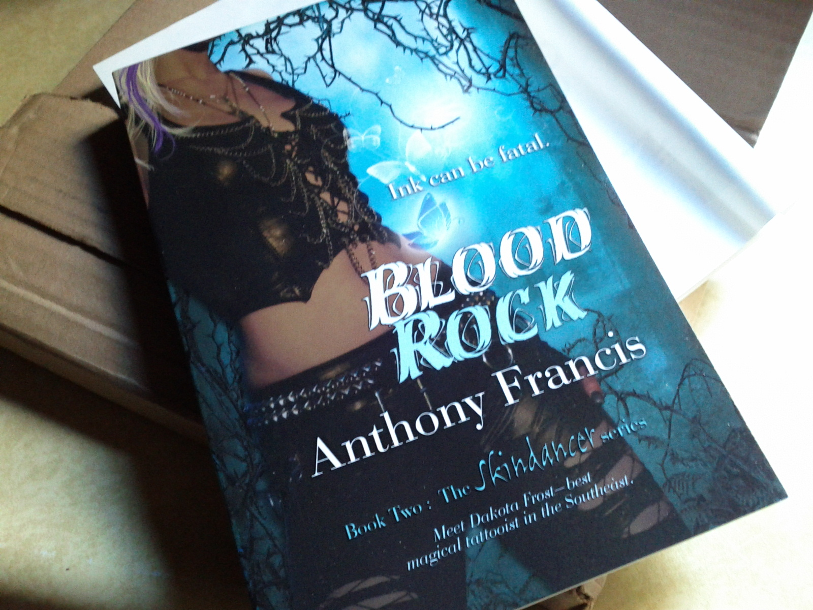 BLOOD ROCK is here...
