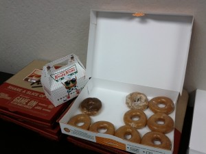 Krispy Kreme (and Pizza)