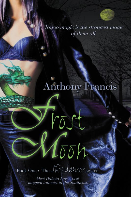 The Cover to FROST MOON