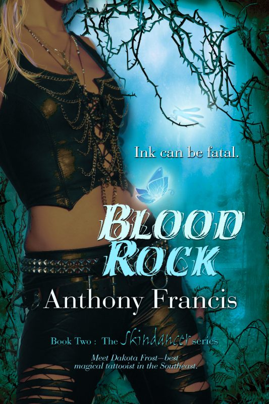 The Cover to BLOOD ROCK