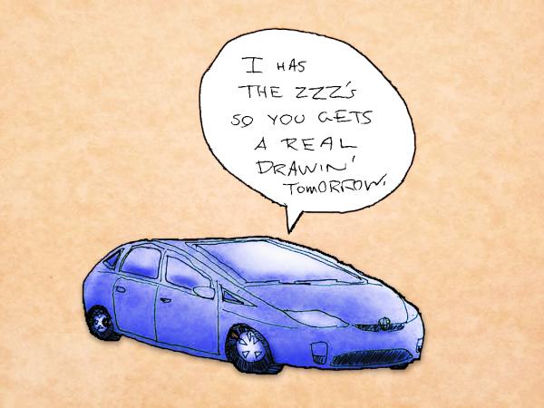 Not my Prius, yet