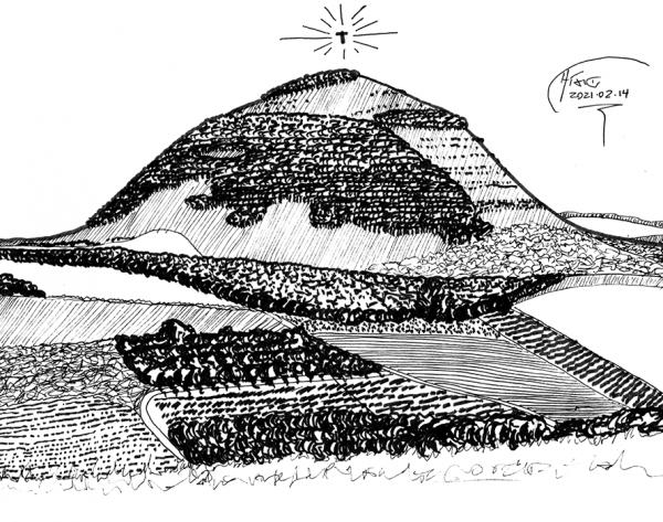 mount tabor sketch