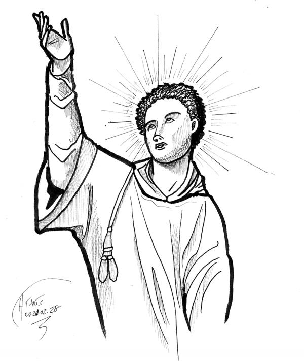 saint stephen sketch