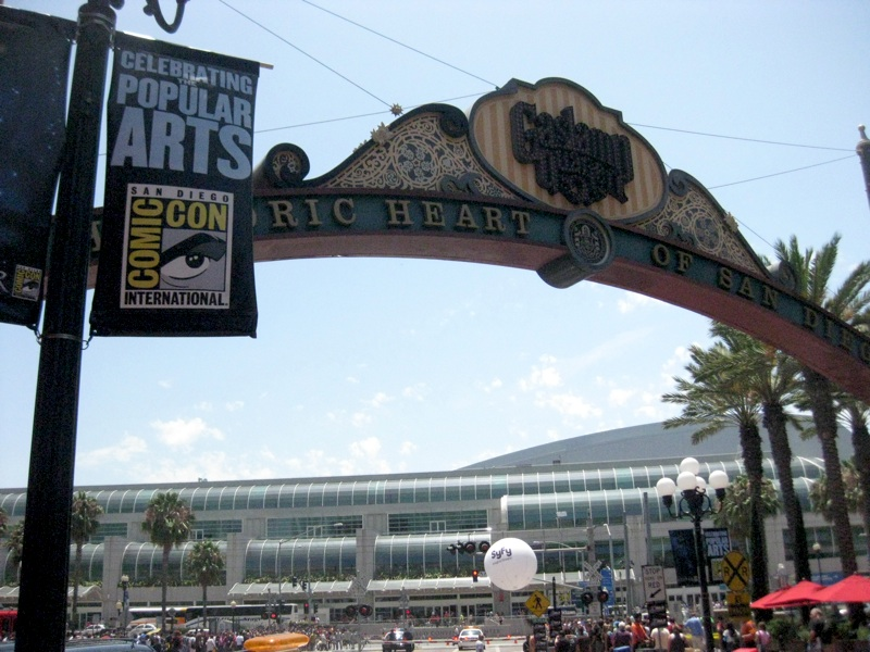 Comicon and the Gaslight District