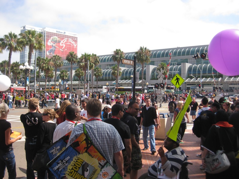 san diego comicon 2010