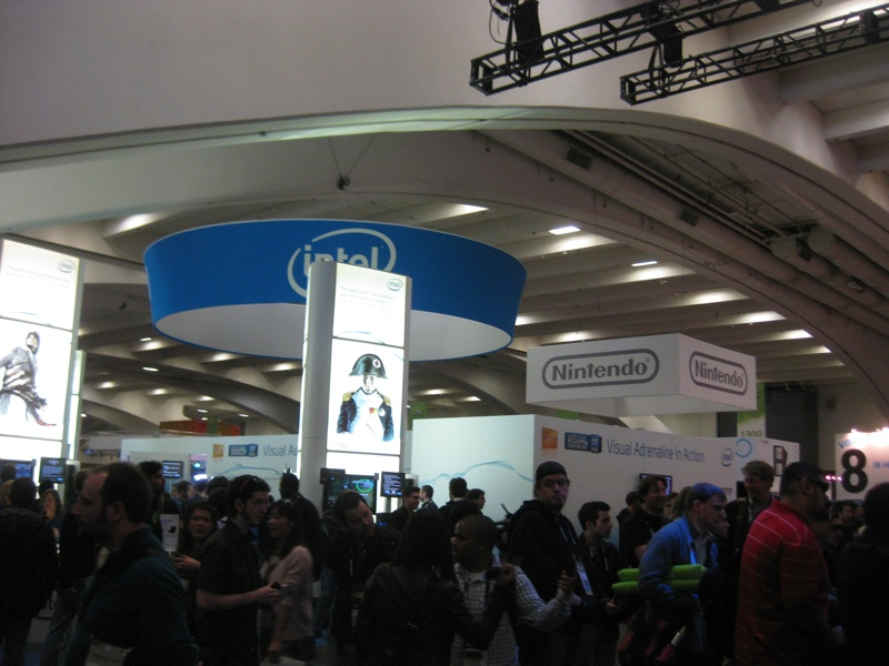 gdc 2010 show floor keeps going