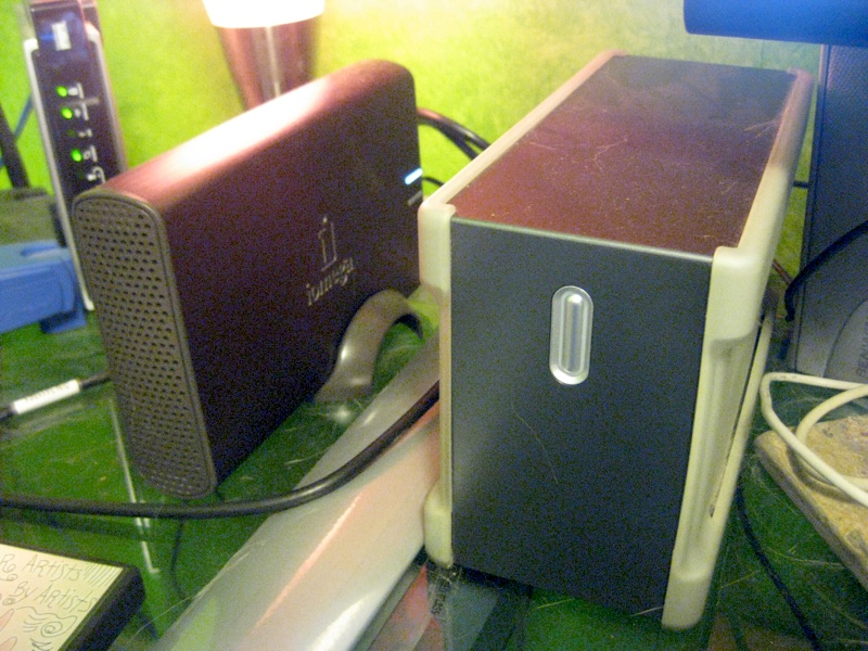 Maxtor and Iomega External Hard Drives