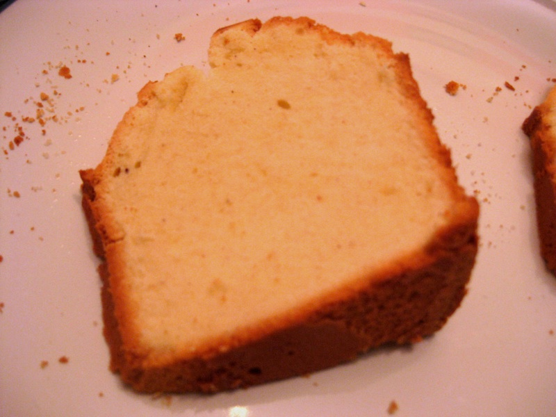 How Much Sugar In A Slice Of Pound Cake