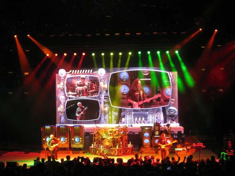 rush time machine tour rocks