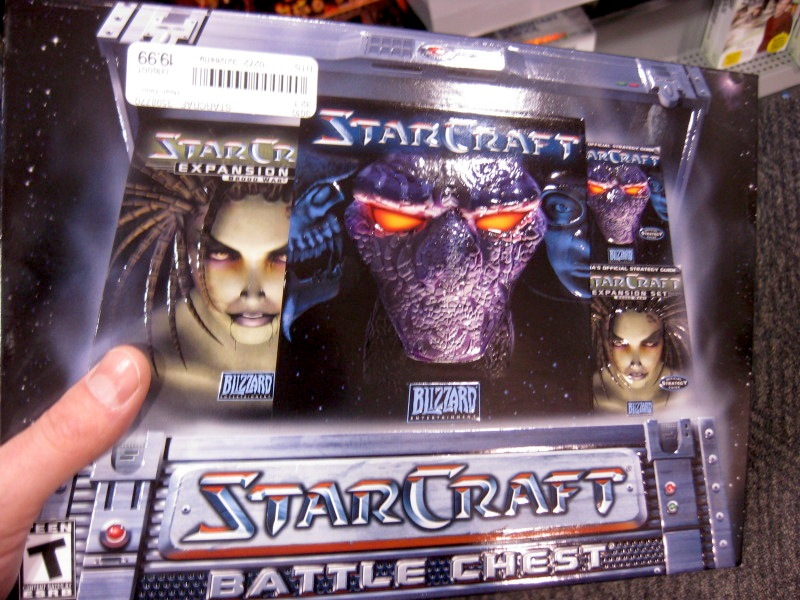 starcraft at christmas