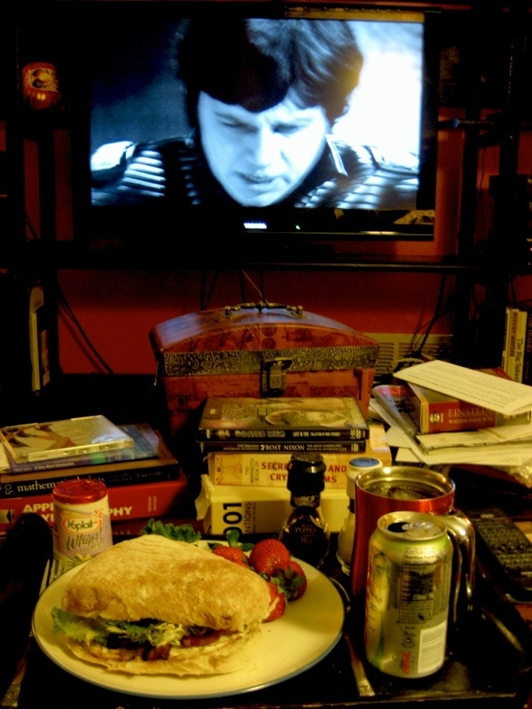 doctor who enemy of the world and a sandwich