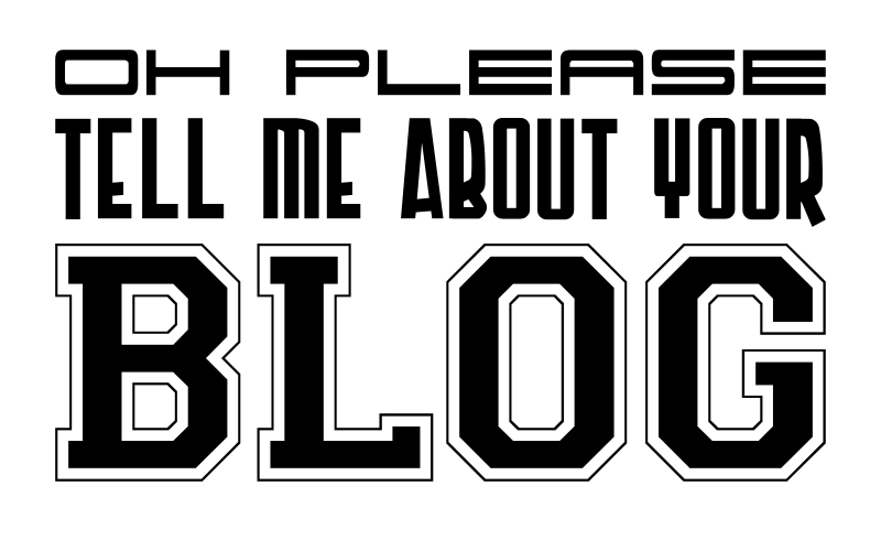 tell me about your blog