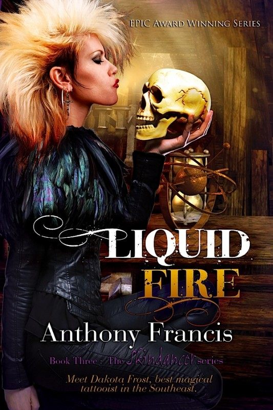 The Cover to LIQUID FIRE