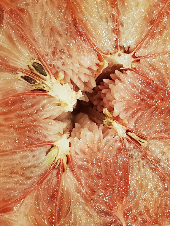Inside of a pomelo, or Azathoth. Not sure.
