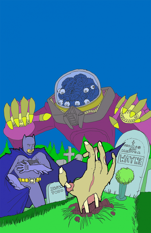 Batman v Dreamweaver Flats