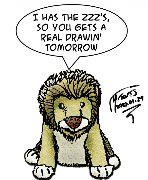 Tiny Lion