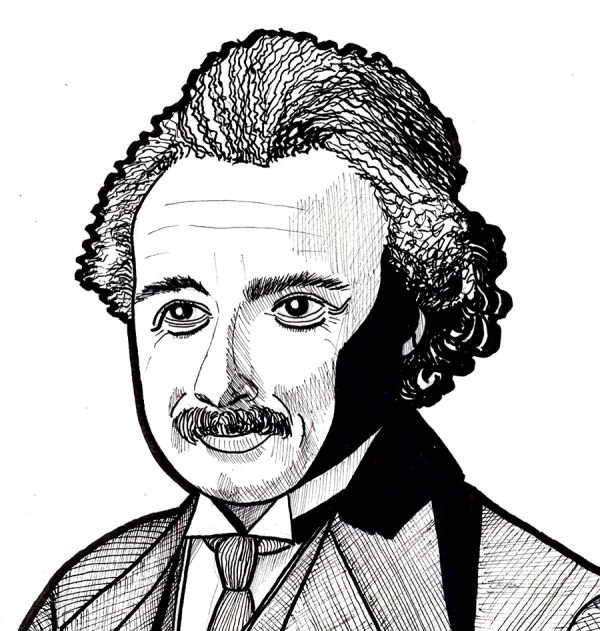 einstein headshot