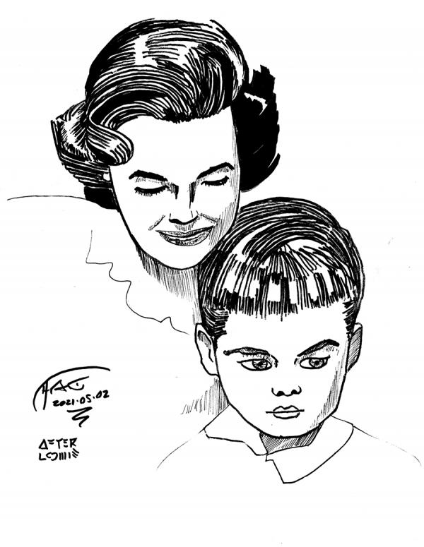 loomis frontispiece sketch