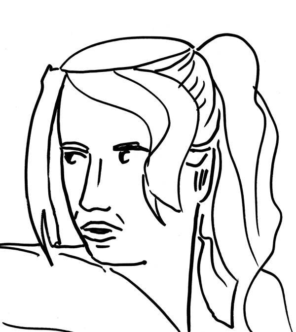 Dim Horizons Face Study