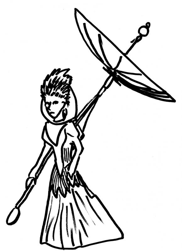 the parasolite concept sketch