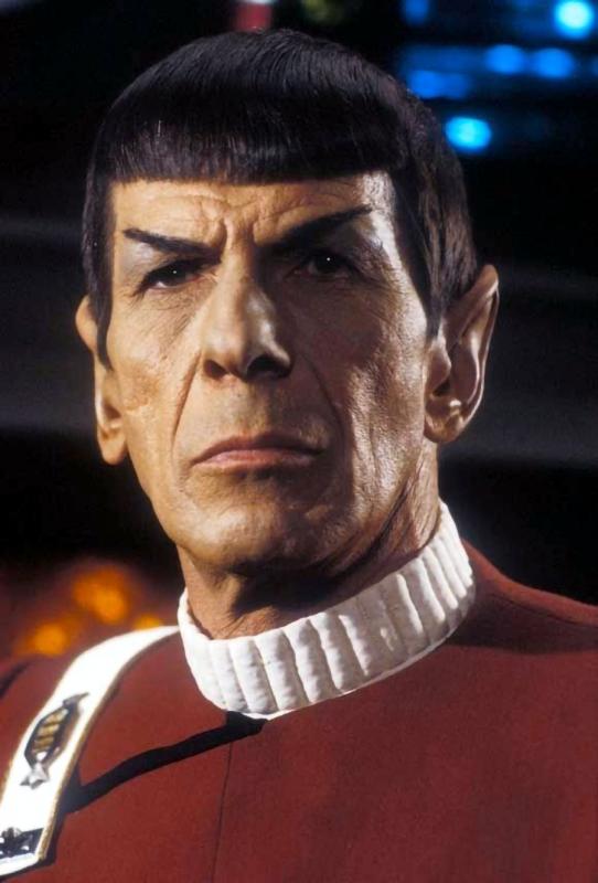 spock headshot